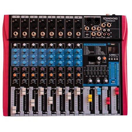 MESA SOUNDVOICE DE SOM SOUNDVOICE 8 CAN EF/EQ MS802 EUX
