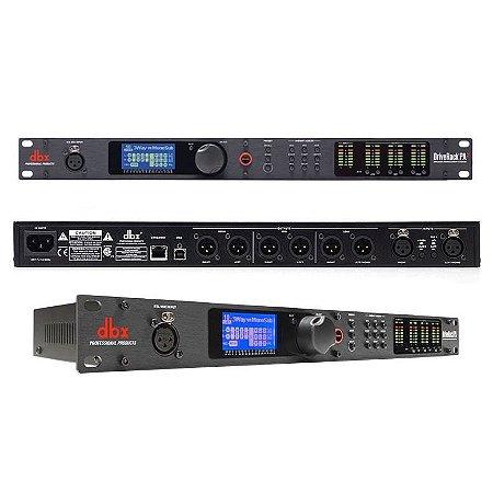 PROCESSADOR DIGITAL DRIVERACK DBX PA2 220V