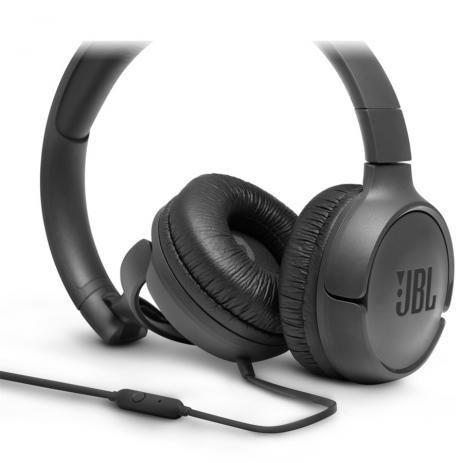 FONE DE OUVIDO JBL T500 BLK