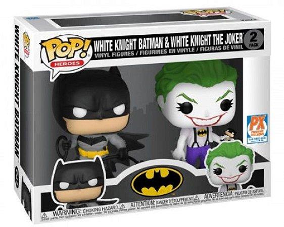 Funko POP DC Comics - White Knight Batman & Joker