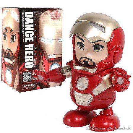 Boneco Homem de Ferro Dançante