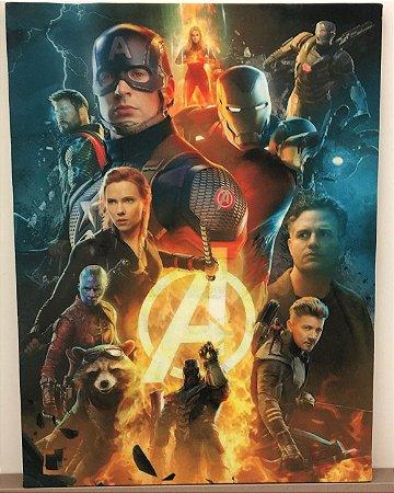 Tela Marvel Vingadores