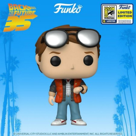 Funko POP Back to the Future - Marty McFly