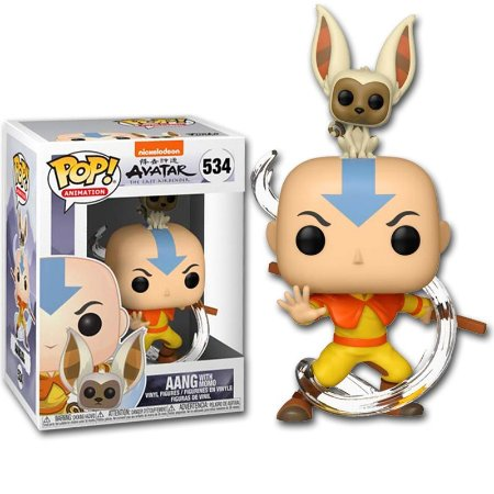 Funko POP Avatar - Aang with Momo