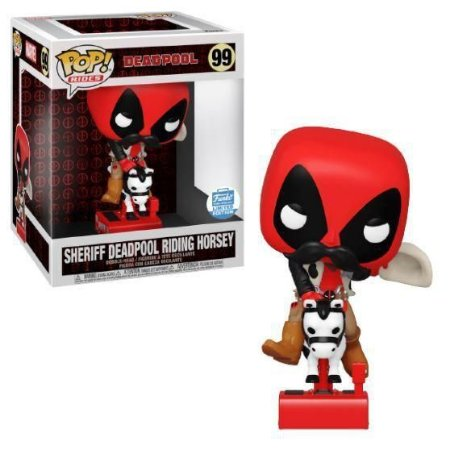 Funko POP Marvel  - Sheriff Deadpool