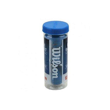 Bola De Frescobol Blue Bullet Tubo Com 3 Unidades Wilson - W ... c9248b1d99561