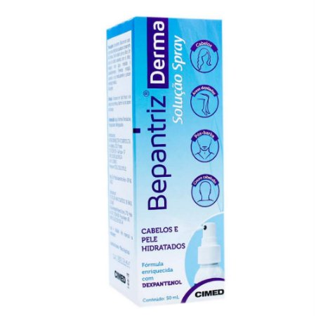 Bepantriz Derma Solução Regeneradora Spray 50ml Cimed