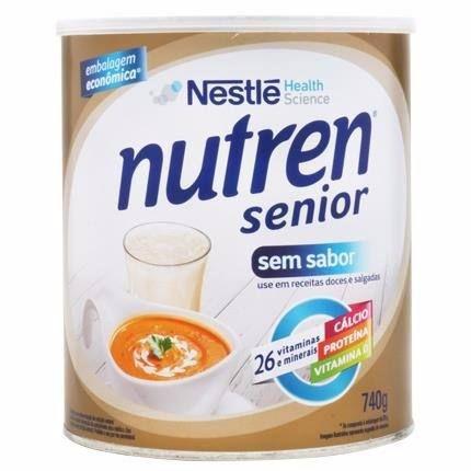 Nutren Senior Sem Sabor 740gr