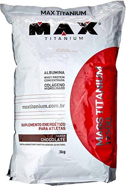 Max Titanium - MASS TITANIUM 17500 - 3kg