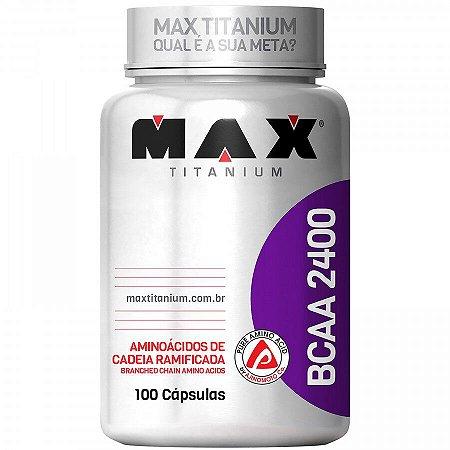 Max Titanium - BCAA 2400 - 100caps