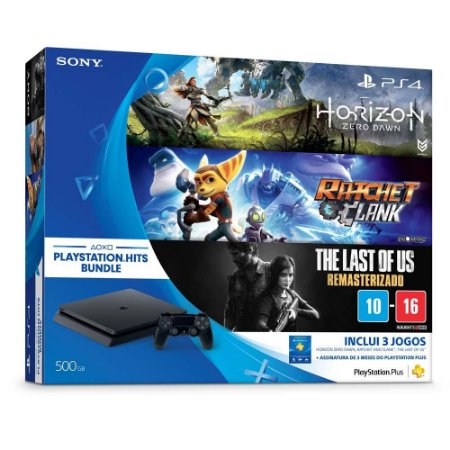 PLAYSTATION 4 500GB HITS BUNDLE - SONY