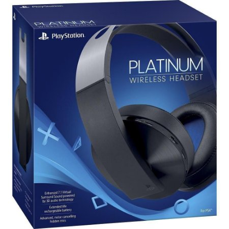 PLAYSTATION 4 HEADSET SONY PLATINUM WIRELESS