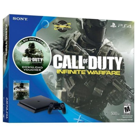 PLAYSTATION 4 SLIM ED. CALL OF DUTY INFINITE WAFARE - SONY
