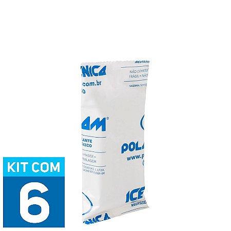 Gelo Artificial Espuma Ice Foam 80g | Kit com 6 unidades IF80