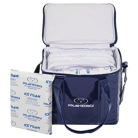 Bolsa Térmica Hemo 14 Litros + 3 Gelos Ice Foam IF1050 BTPHEMO/M