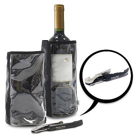 Kit com 02 Capas Térmicas para Garrafas (M e G) + Brinde Exclusivo GPTCAPAS