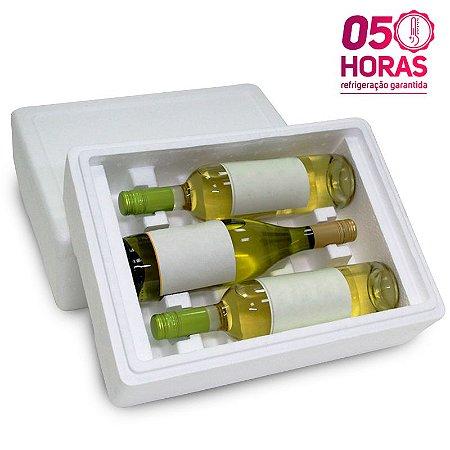 Caixa térmica para garrafas em EPS GPT3069