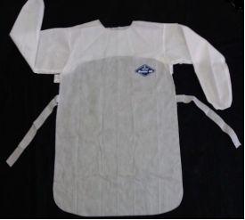 Avental com manga longa em SMS Para Proteção