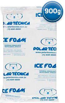 Gelo Artificial Espuma Ice Foam 900g   Kit com 07 Unidades