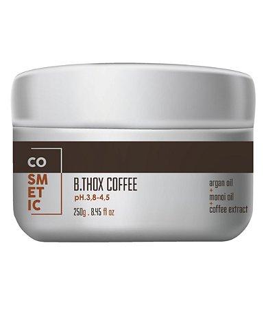 Botox Capilar De Café, Para Cabelos Escuros - 250g