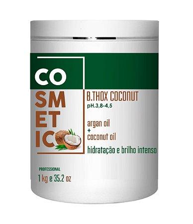 Botox Capilar De Côco, 0% de FORMOL,  Cabelo Sem Frizz E Hidratado - 1kg