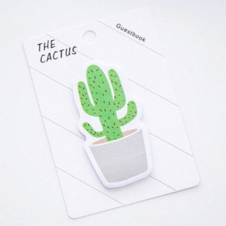 STICKY NOTE (POST IT) CACTUS #1