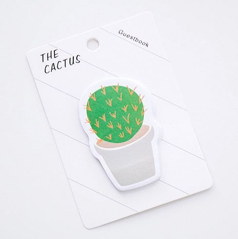 STICKY NOTE (POST IT) CACTUS #3