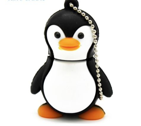 PEN DRIVE 4GB PENGUIM