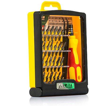 Kit Jogo de Chave de Precisão, 32 Peças - TE-6032A - Telijia