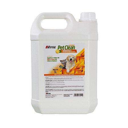 Royal Pet Clean Limpador e Eliminador de Odores - Bombona 5 Litros