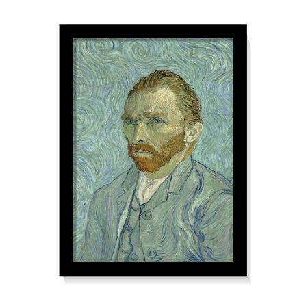 Quadro Decorativo Van Gogh Auto Retrato 1889 Obra