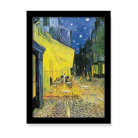 Quadro Decorativo Pintura Cafe No Terraço Van Gogh