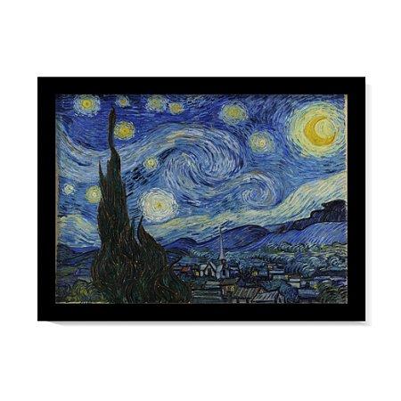Quadro A Noite Estrelada Sobre o Ródano Van Gogh Obra