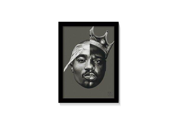 Quadro 2Pac & The Notorious B.I.G Art