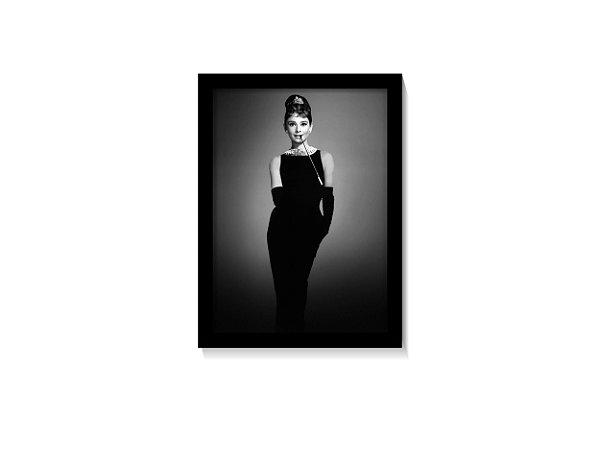 Quadro Audrey Hepburn (Bonequinha de Luxo)