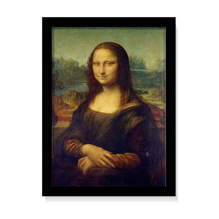 Quadro Mona Lisa Obra Leonardo da Vinci Pintura