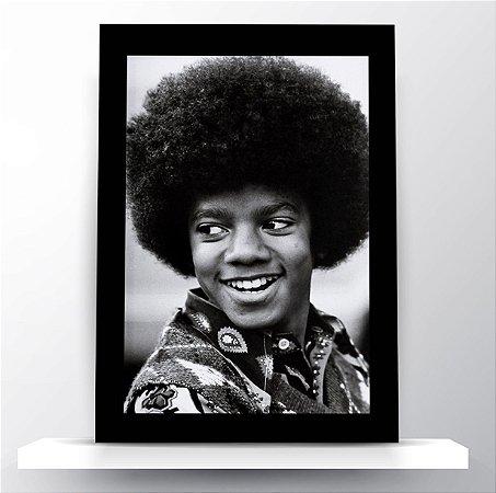 Quadro Michael Jackson Black Power