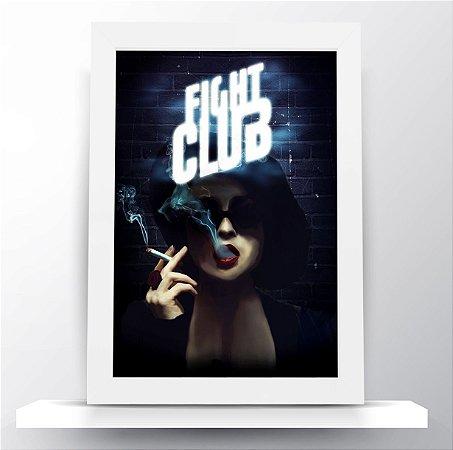Quadro Clube da Luta - Marla