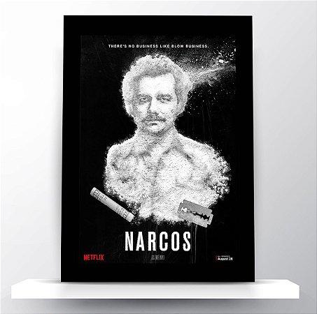 Quadro Narcos - Pablo Escobar
