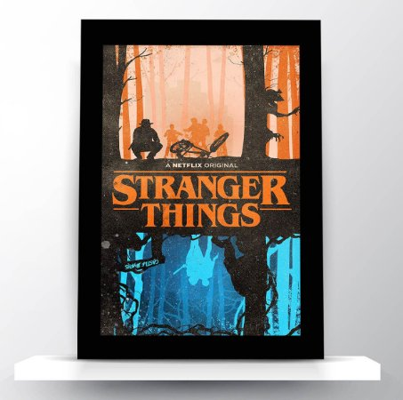 Quadro Stranger Things (Fan Poster)