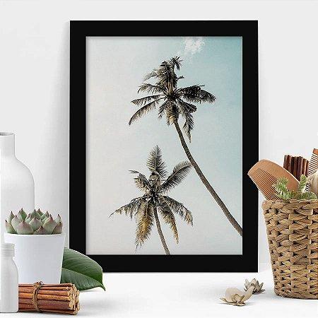 Quadro Palmeira Tropical Art