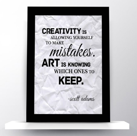 Quadro Creativity & Art - Scott Adams