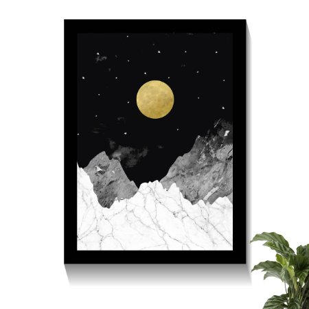 Quadro Mountain Moonlight