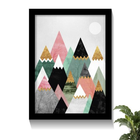 Quadro Mountain Colors