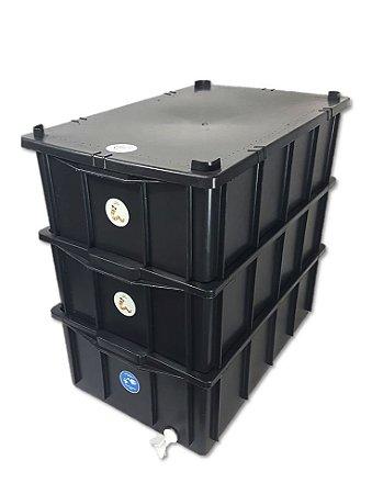 Composteira Doméstica Minhocário - 36 L (1-4 Pessoas)