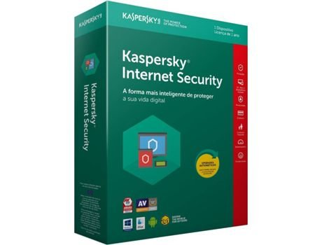 KASPERSKY INTERNET SECURITY MD 1 USUARIO 1 ANO