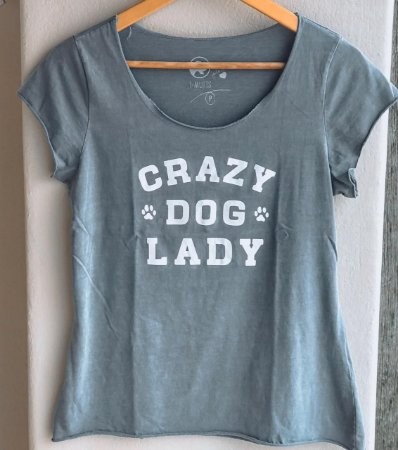 Blusa Crazy Dog Lady