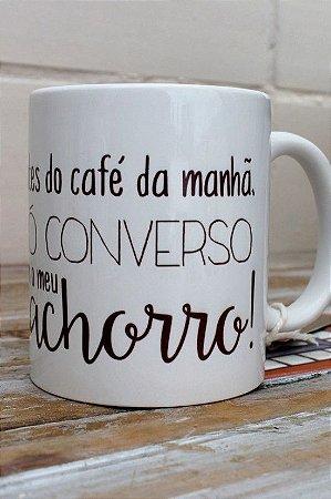 Caneca Antes do Café