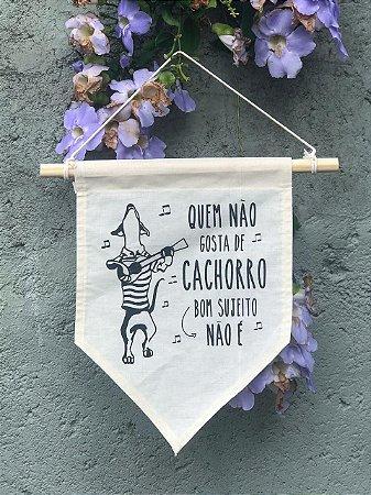 Flâmula Cachorro Samba