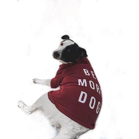 Moletom Pet Be More Dog - Collab Voalaika + T-Mutts